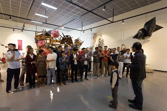 《事物的非秩序》龙门艺术区实验首展在京举办