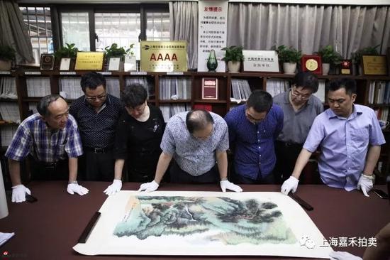 上海嘉禾2018春拍专家顾问齐坐镇 陈佩秋作品