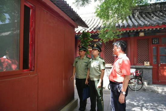 北京消防为故宫文物进行消防安全体检