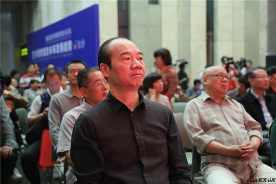 江苏省国画院副院长刘云参加画展
