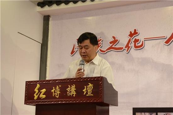 广西群众艺术馆馆长覃广周先生致辞