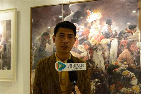 黄华兆接受媒体采访