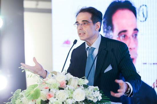 意大利使馆文化参赞 孟斐璇先生 Mr. Franco Amadei