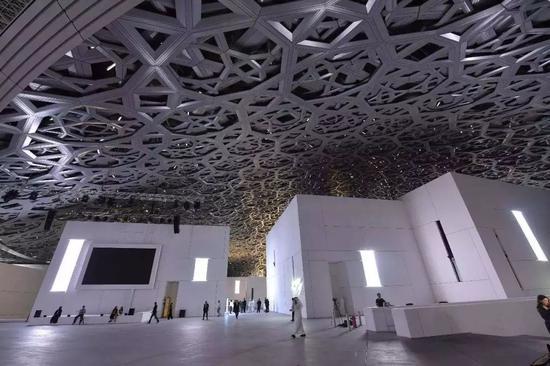 卢浮宫阿布扎比博物馆内景