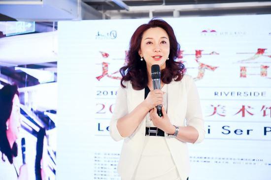 山水文园集团执行董事兼CEO 张晓梅女士