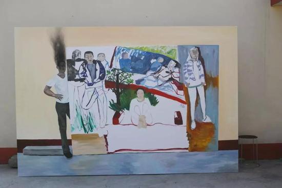 艺术家郑皓中在北京的首次个展在金杜艺术中心开办
