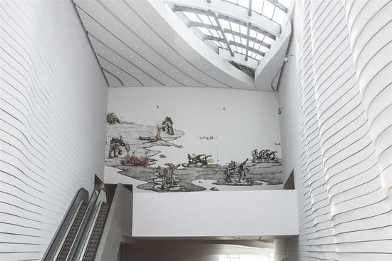 普拉巴卡尔·帕克布奇,农民之海,2018,图片来源:银川当代美术馆