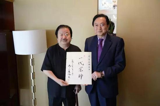 日本前首相鸠山由纪夫评崔如琢:《一代宗师》