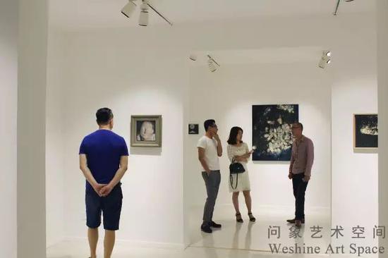 赵舒燕问象个展现场