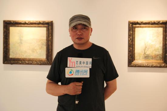 刘玉表个人作品展在1503艺术馆开幕