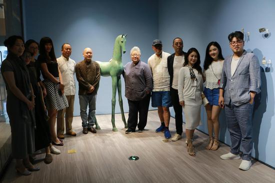 于凡&谭勋双个展在北京金融街购物中心举行