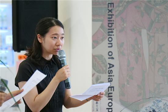 日本国驻上海总领事馆宣传文化部副领事 加藤华子 发言