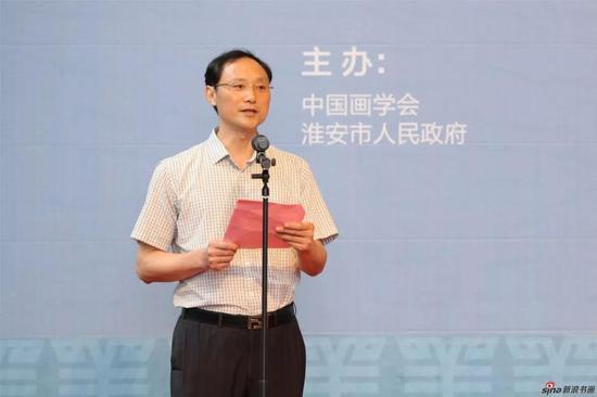 开幕式由淮安市文广新局局长、党委书记张冲林主持