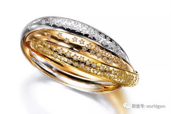 Trinity   钻石戒指