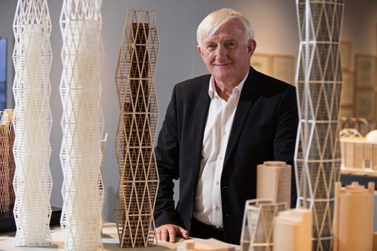 英国福斯特及合伙人建筑设计事务所高级执行合伙人、设计总监Spencer de Grey
