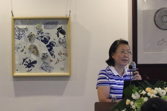 北京故宫博物院古陶瓷专家冯小琦