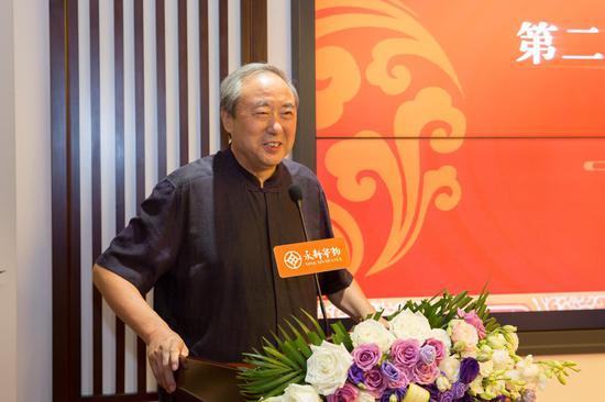 原文化部副部长、国家图书馆名誉馆长周和平致辞