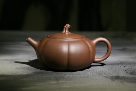艺术家朱江龙作品 田园系列紫砂壶