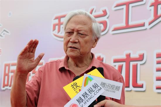 媒体采访原北京画院领导班子成员、 国家一级美术师、著名画家赵志田先生