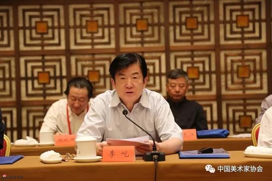 中国文联党组书记、副主席、书记处书记李屹作重要讲话