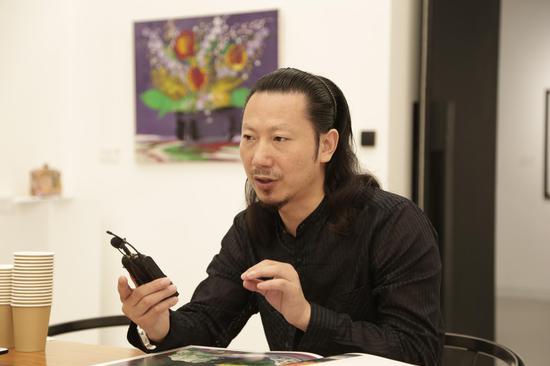 策展人、汉威国际艺术中心馆长张思永 接受采访