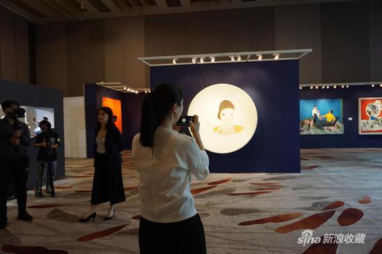 香港苏富比秋拍北京预展现场
