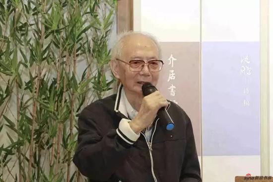 沈鹏 中国书法家协会名誉主席、中华诗词学会名誉会长