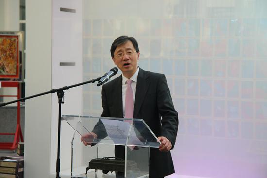 中国驻欧盟使团王红坚代办致辞