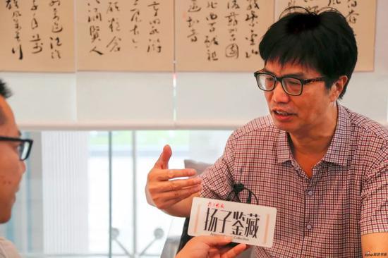 章剑华接受媒体采访