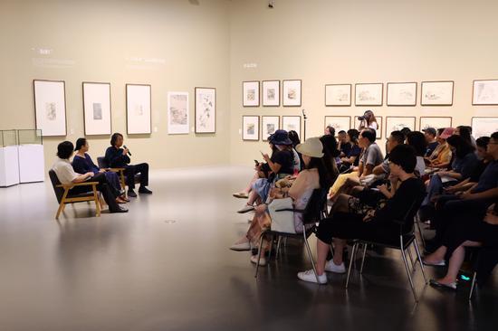 """""""传统作品+当代策展:美术馆藏品展方法论对谈""""现场"""