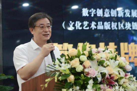 深圳广播电影电视集团副总编辑、深圳文交所董事长于德江