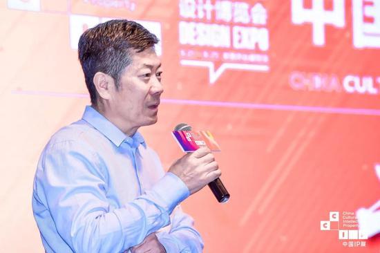 全国政协文化文史和学习委员会副主任、中国版权协会理事长阎晓宏先生致辞