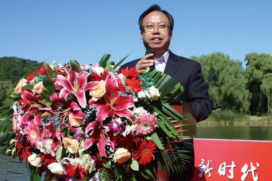 书画频道董事局主席 王平