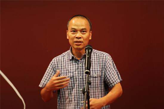故宫博物院研究馆员、故宫博物院研究院考古研究所副所长王光尧先生现场致辞