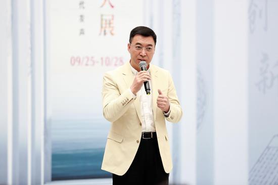 北京民生现代美术馆理事长李文华开幕式致辞
