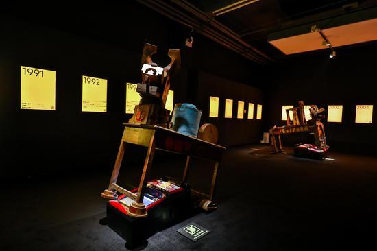 主题展现场,图片由北京798艺术区管委会提供