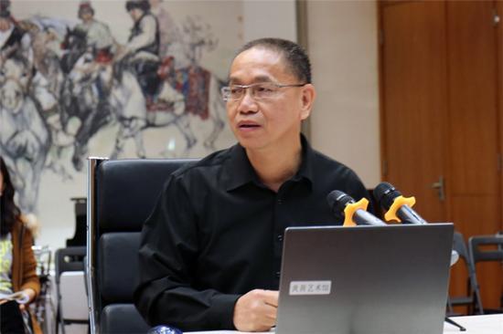 """中国艺术研究院美术研究所研究员、博士生导师郑工主讲""""速写与书写——论黄胄绘画笔墨的历史生成"""""""