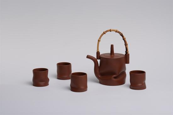 意竹茶具 艺术家许艳春作品