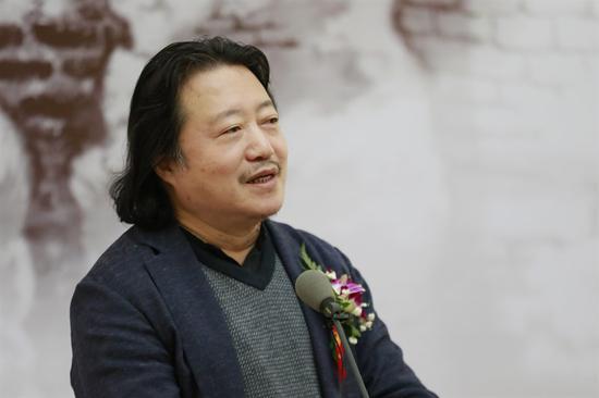 中国国家画院副院长纪连彬致辞