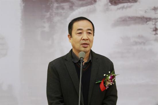 广东省美术家协会常务副主席王永致辞