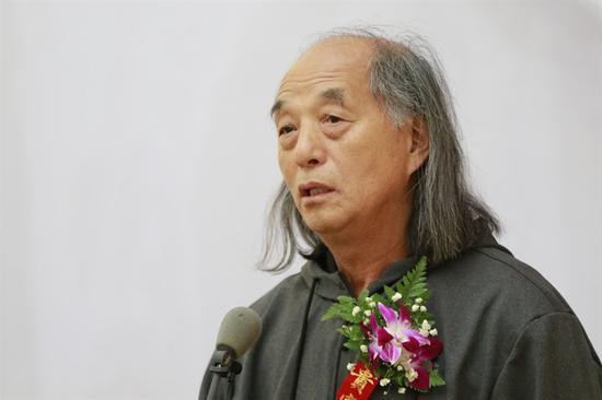 中国国家画院研究员、哈尔滨师范大学教授高卉民致辞