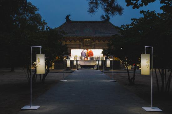 永乐宫夜景