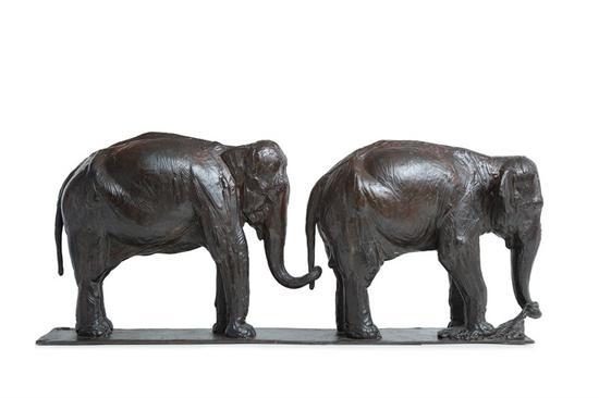 杜梦堂 两头大象