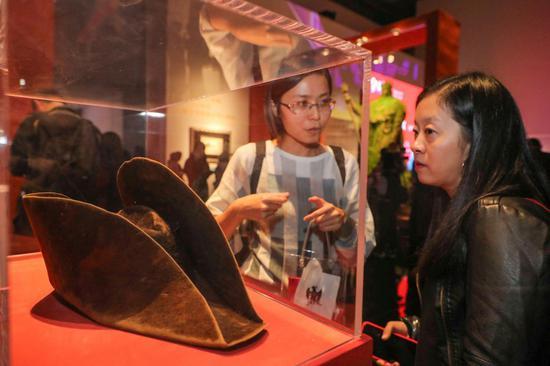 """""""拿破仑特展""""展览现场,图?上海喜玛拉雅美术馆"""