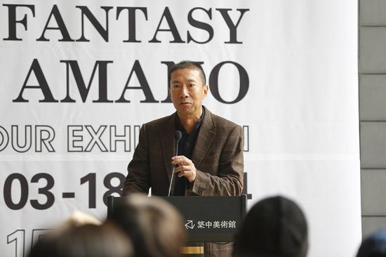 藏家、展览主办方北京悠悦源文化发展有限公司董事长王绪兵