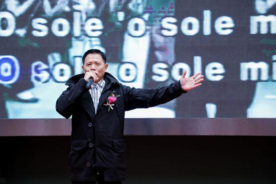 嘉宾演出 美声男高音,赵振光,旅美歌手演唱(我的太阳)
