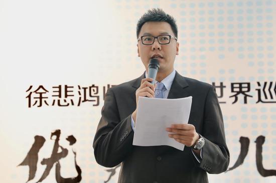 美育名校联盟秘书长孙伟博