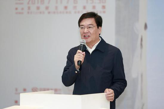 中央美术学院书记高洪开幕致辞