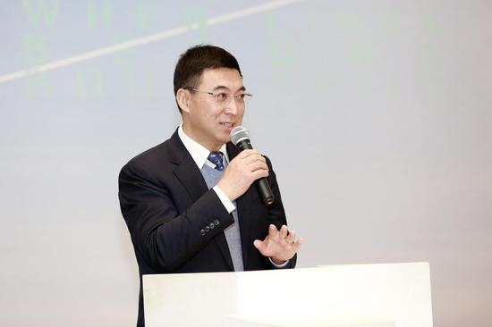 北京民生现代美术馆理事长李文华开幕致辞