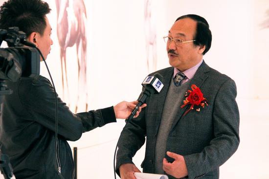 雷晓宁接受采访